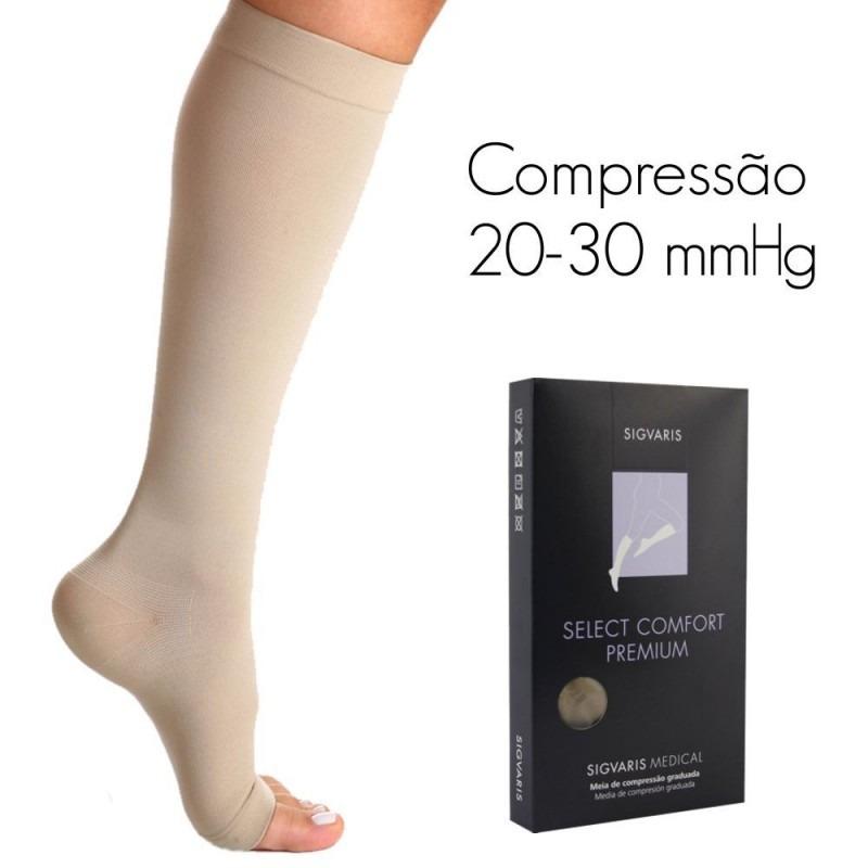 2aa069c34 Meia Sigvaris Comfort Premium 30-40 Mmhg Alta Compressão M2 - R  189 ...