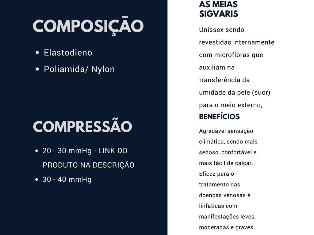 e2e037e1d meia sigvaris select comfort premium -863 tam p1 (30-40mmhg). Carregando  zoom.
