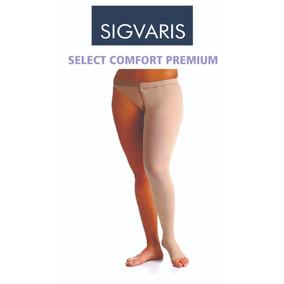 9df4c0650 Meia Coxa Com Cinta Sigvaris Select Comfort (30 40 Mmhg) no Mercado Livre  Brasil