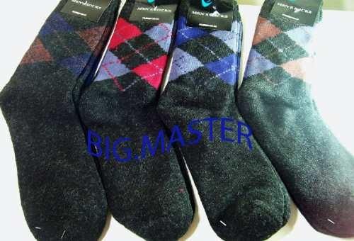 meias de lã termica masculina ótimas para o inverno