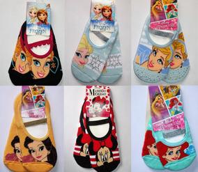 ef8f4153bcb Meia sapatilha Puket Frozen Princesas Disney Anti-derrapante