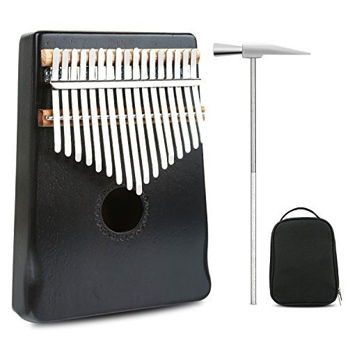 meideal 17 teclas kalimba pulgar piano serie profesional ins