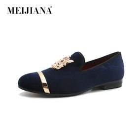 45b37cb44d Meijiana Lujo Hombres Zapatos De Moda Boda Zapatos Europeo E