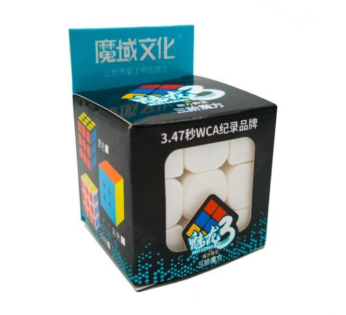 meilong 3 cubo mágico 3x3x3 moyu colorido pronta entrega