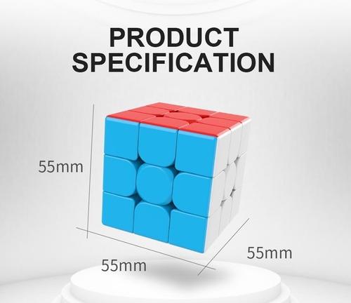 meilong 3c cubo mágico 3x3x3 moyu colorido pronta entrega