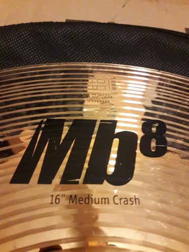 meinl mb8 medium crash 16