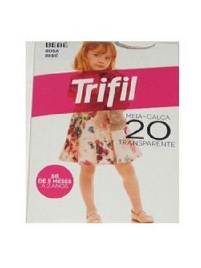 45e3a883c Meio Calça Trifil Infantil Bb Transparente 20 - R  13