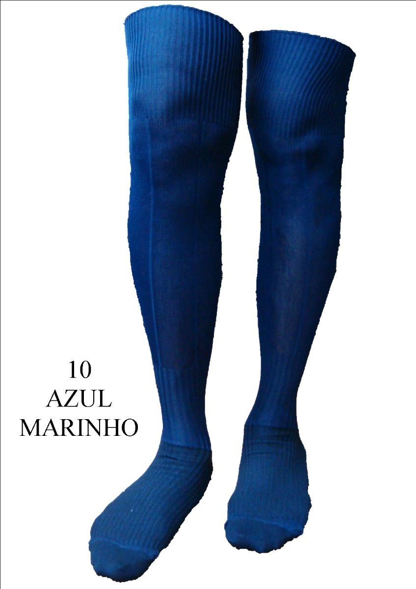 f00c68f63 meião de futebol azul marinho futsal society universal meias. Carregando  zoom.