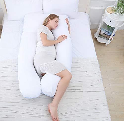 meiz 60  almohada de cuerpo embarazo - la forma de u almoha