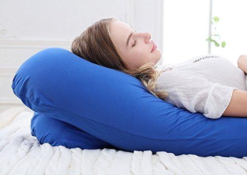 meiz 60  de cuerpo completo embarazo almohada - almohada de
