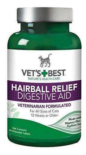 mejor ayuda veterinaria del alivio del hairball del gato de