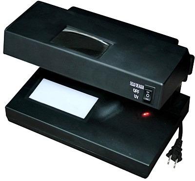 mejor eficaz detector billete falso luz uv luz blanca y lupa
