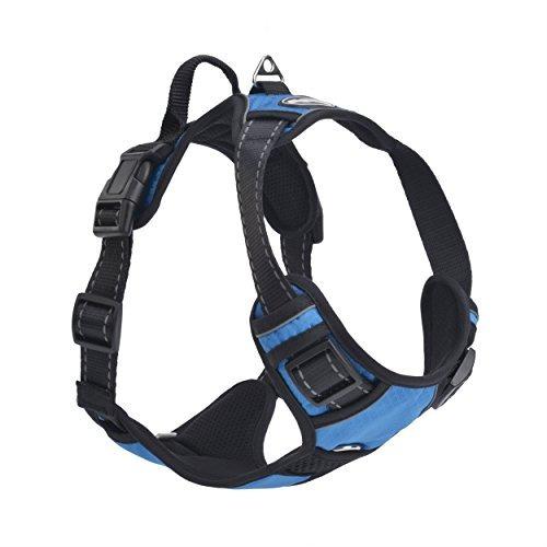 mejor front range n-pull perro harness.reflective aven u22