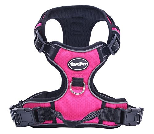 mejor gama frontal no-pull dog harness.reflective al aire l