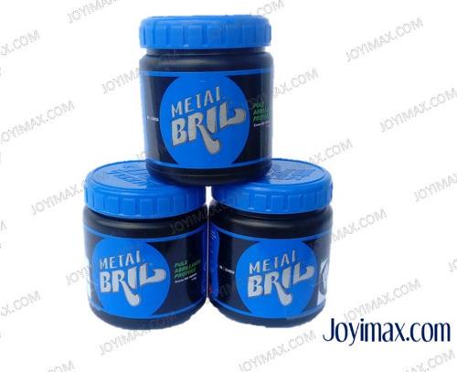 mejor pasta pulidora metal bril 150gr plata, alpaca, otros.