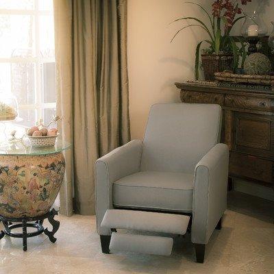 mejor venta davis reclinable silla, gris