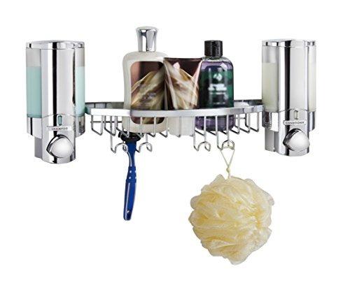 mejor vida productos 76244-14bsk aviva dispensador ducha ces