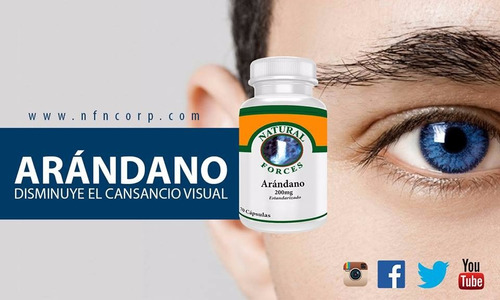 mejora tu vision! arandano 100% natural