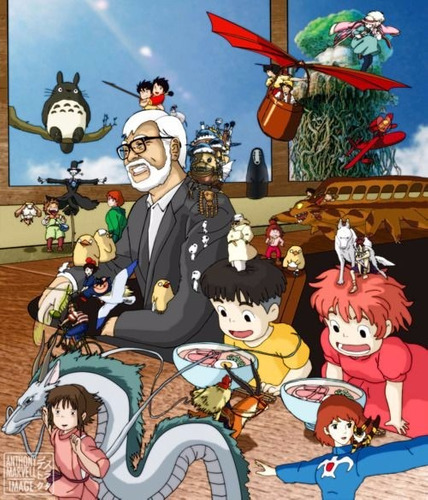 mejores películas anime estudios ghibli gonzo madhouse etc