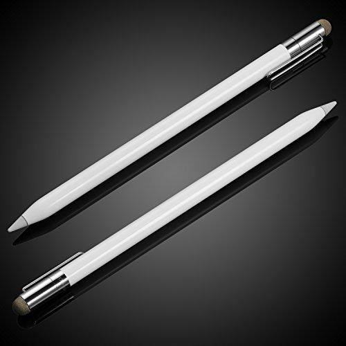 meko 2 en 1 repuesto de lápiz apple pencil cap thin fiber ti