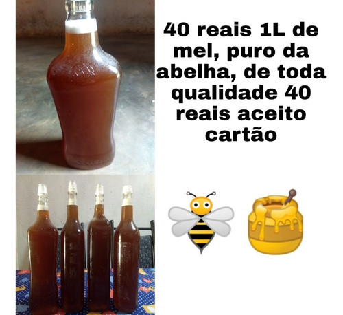 mel de abelha ótima qualidade.
