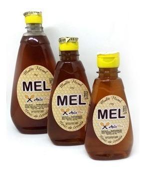 mel multifloral 500g - 1 kits 6 unidades