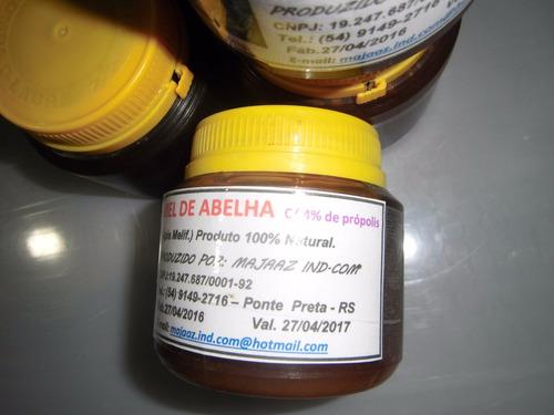 mel puro  abelha 500g........c/4% de própolis