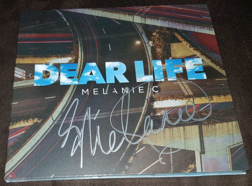 melanie c dear life single cd autografiado digipack