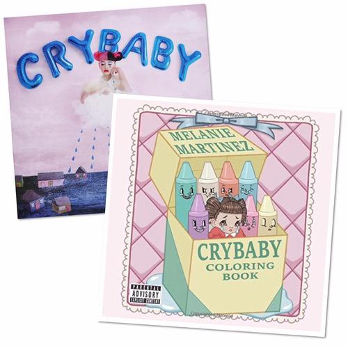 Melanie Martinez Cry Baby Paquete Cd Y Coloring Book