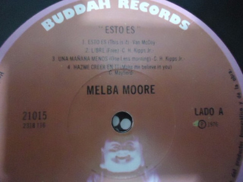 melba moore / this is it vinyl lp acetato