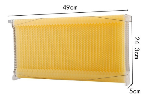melgueira automática colméia favos plástico ninho abelhas