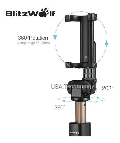 melhor pau de selfie blitzwolf bluetooth universal android/i