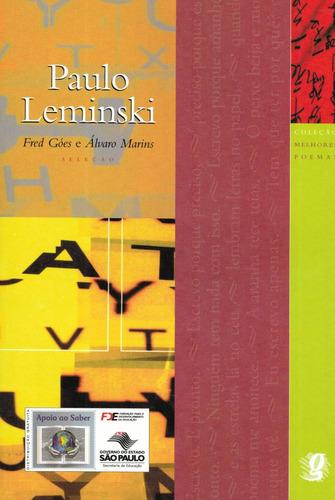 melhores poemas - paulo leminski- pague com cartão