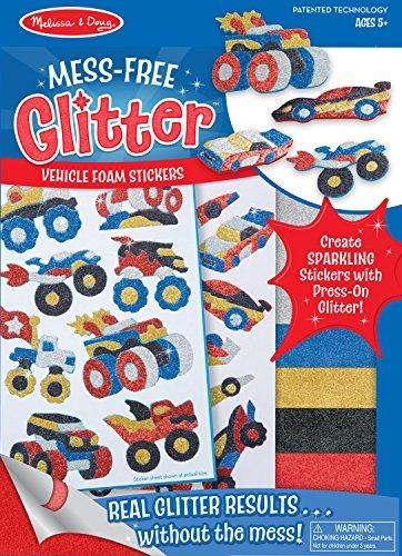 melissa & doug mess-free glitter activity kit - pegatin