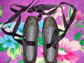 945f4d45b5 Melissa Ballet Preta Gliter Dourado Original