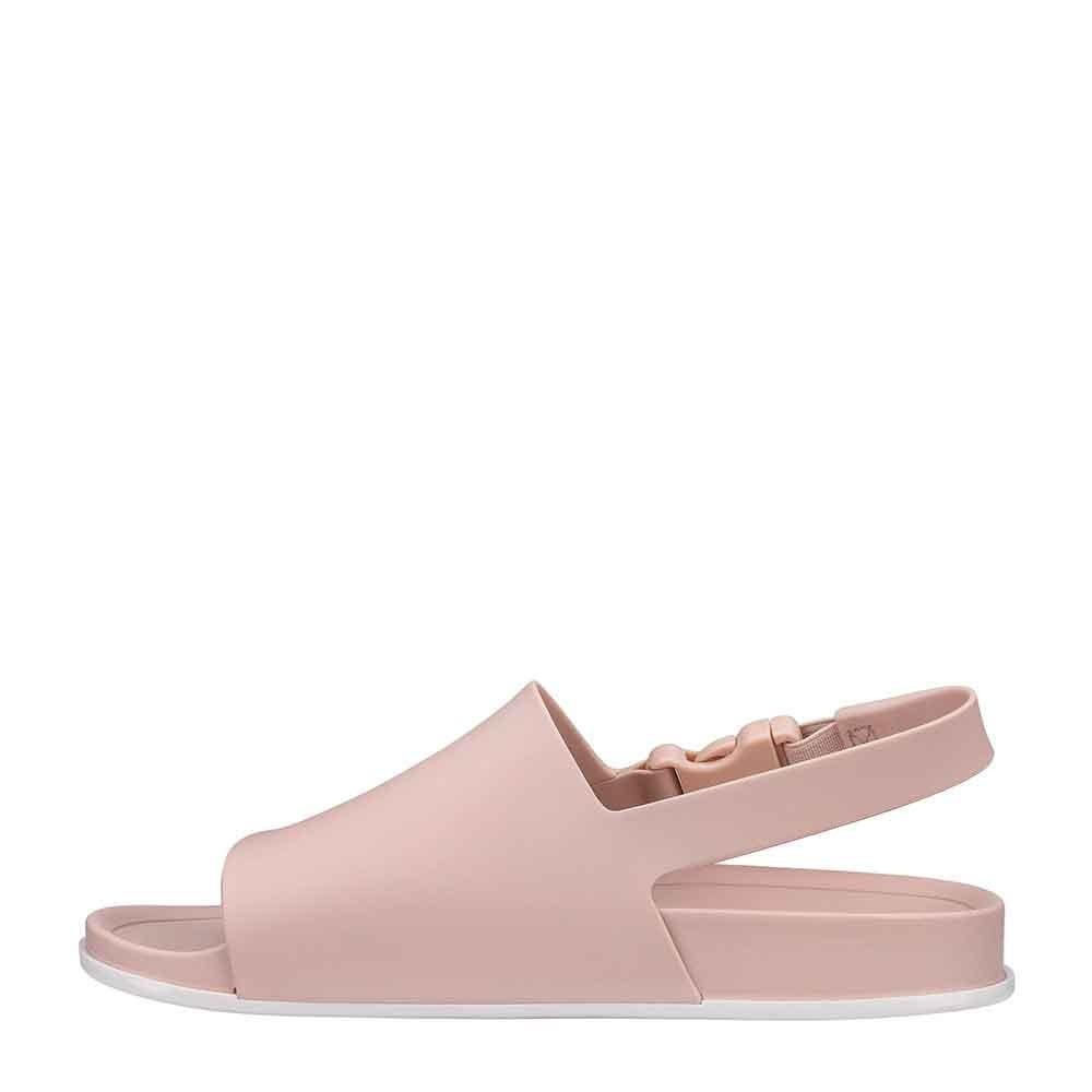 17f939245 melissa beach slide sandal ad rosa branco 31992. Carregando zoom.