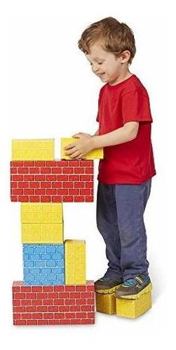 melissa bloques de construccion de carton extra grueso de do