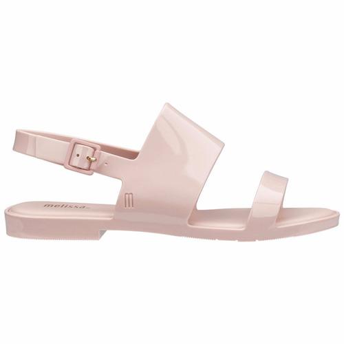 melissa classy rasteirinha sandália nova original rosa 31897