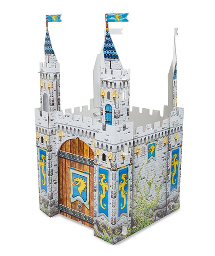 melissa & doug castillo medieval playhouse indoor