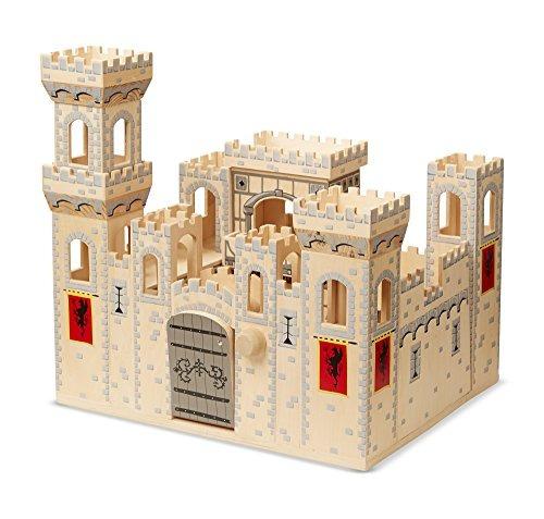 melissa & doug castillo medieval plegable