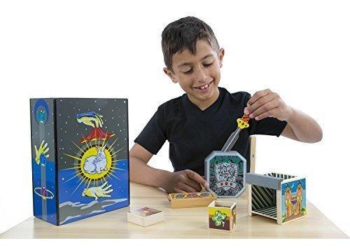 melissa  doug discovery magic set con 4 trucos clasicos cons
