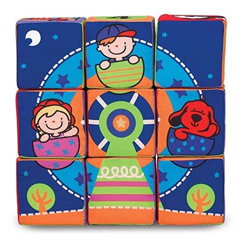 melissa & doug k's kids match y build soft blocks set