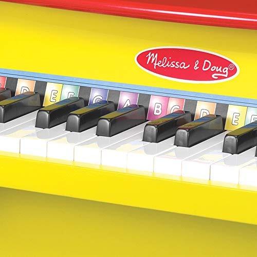 melissa - doug learn-to-play piano con 25 teclas y un libro