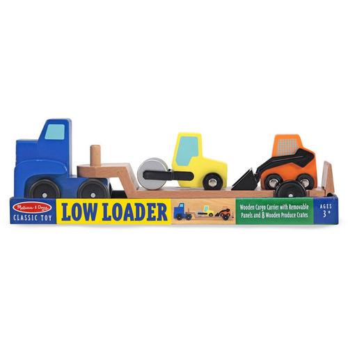 melissa & doug low loader