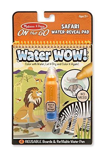 melissa - doug on the go agua ¡guau! cojin de actividad reu