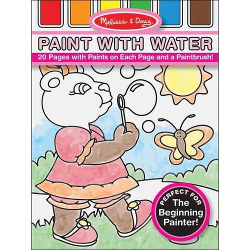 melissa & doug pintura con kit de agua