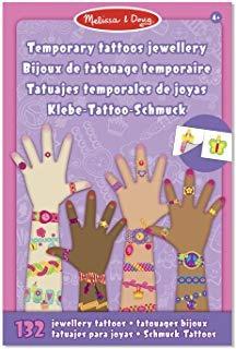 melissa & doug tatuajes temporales- joyas