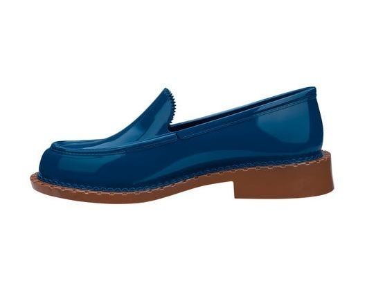 670cfcdb7645d2 Melissa Penny Loafer Azul/marrom (promocao) - R$ 90,00 em Mercado Livre