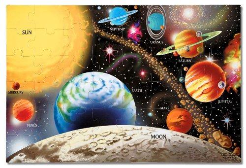 melissa - puzzle del piso del sistema solar de doug (48 piez