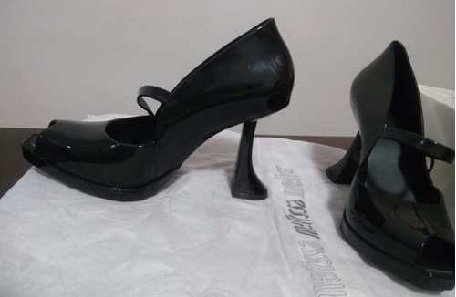 melissa upside down heel +karl lagerfeld